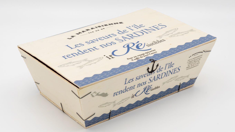Coffret de sardines de l'ile de Ré